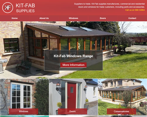 Web Design Limerick for Kitfab Supplies