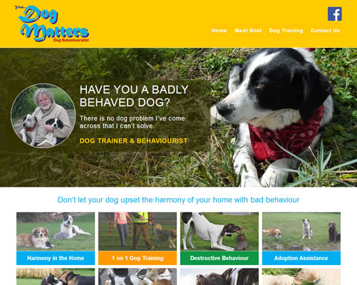 WWebsite Design for Your Dog Matters